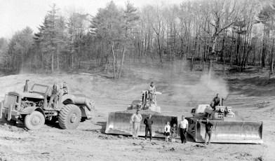 Harold Post & Family excavating Catskill 1964 (2)