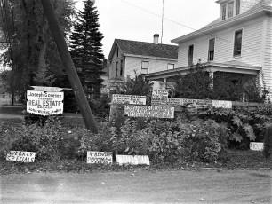 John Winter's signs Catskill 1960 (3)