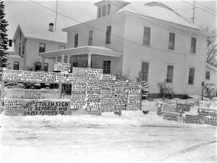John Winter's signs Catskill 1960 (4)