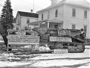 John Winter's signs Catskill 1960
