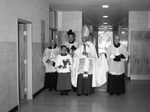 St. Patrick's Parish School Blessing of new school Catskill Sept. 1962 (5)
