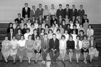 Chatham Central School Senior Class 1962