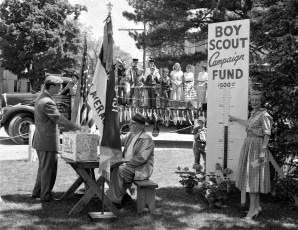 Claverack Boy Scout Fund Raiser 1957