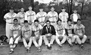 Claverack Hollowville Baseball Team 1957
