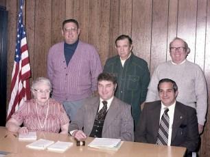 Claverack Town Board 1977