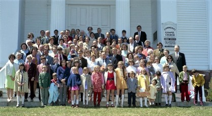 Community Gospel Church Martindale 1972