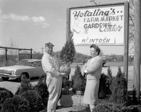 Hotaling's, John Hotaling & Marjorie Miller Claverack 1963