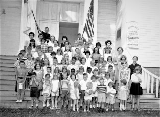 Martindale Community Gospel Church Bible School Claverack 1967
