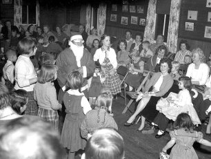 Clermont Fire Dept. Xmas Party 1956 (2)