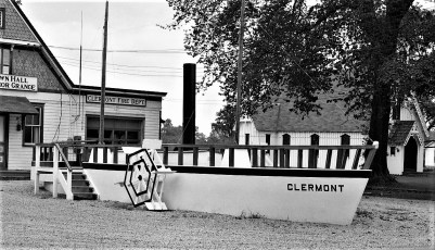 The Clermont replica built by the Town of Clermont for the Hudson Champlain Cellebration 1959 (2)