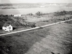 Aerial views of G'town 1948 5