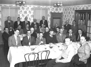 Dart Club Dinner Central House 1950