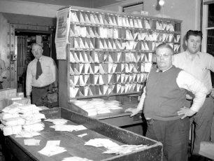 G'town Post Office Harold Denegar, Leland Lasher, Sherman Potts