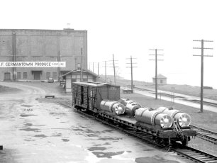 Spray Rigs G'town Station 1947