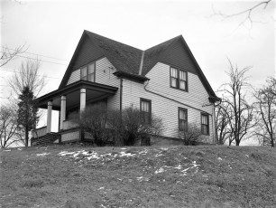 Beulah Delaney house & barns Rt 9G G'town 1950