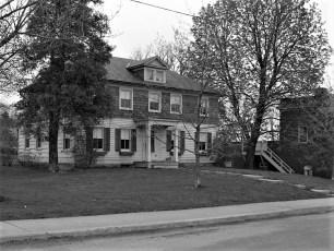 Dr. Carpender house & barn Main St G'town 1954