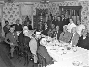 G'town Euchre Club Dinner Central House 1952