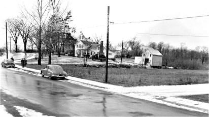 G'town Post Office new site on land of Mrs. Johanna Eckert Jan. 1955