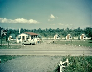 Jerene Cabins Rt. 9G G'town 1950s