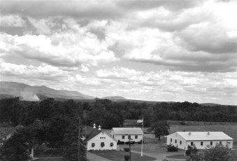 Taconic Farms Catskill Mt. view 1950s