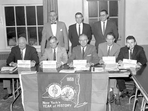 G'town Chamber of Commerce Officers 1959