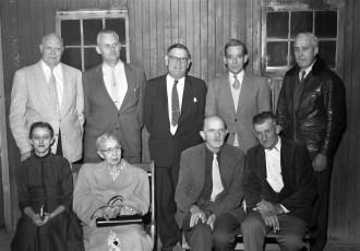 G'town Democrats meet 1957