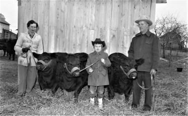 Mr. & Mrs. Vernon Rockefeller Farm G'town 1956