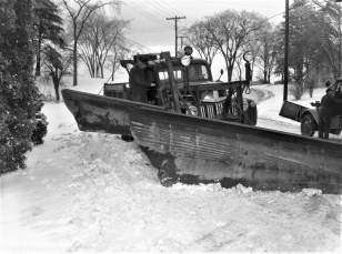 Town of G'town Highway Super. Wm. Best snow plowing 1956