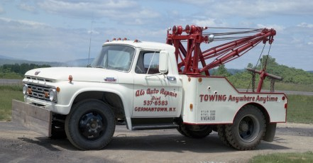 Al Lewis's new tow truck 1964