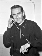 BECO's new listening device tested on watch by Warren Bohnsack G'town 1962
