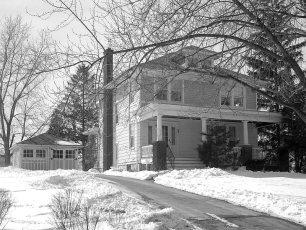 Bryant House former home of Owen Rockefeller Main St. G'town