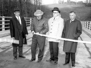 Dales Bridge Opening G'town Ribbon Cutting 1964