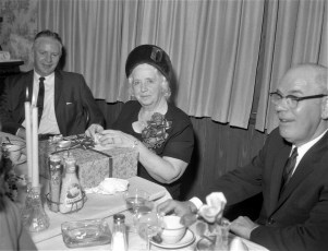 Helen Maske Farewell Party State Bank of Albany G'town 1965 (1)