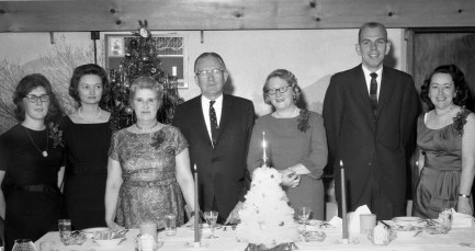 Lawrence Boice Ins. Staff Xmas Party 1964
