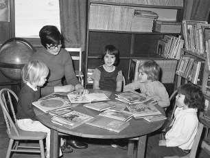 G'town Library Story Hour 1976