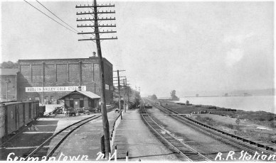 G'town Railway Station (Post Card)