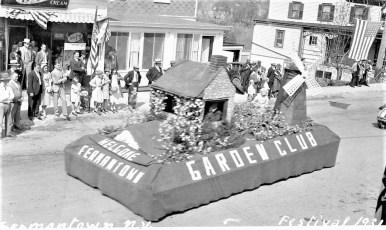 Blossom Festival G'town 1931 (Post Card) (2)