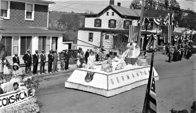 Blossom Festival G'town 1931 (Post Card)
