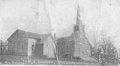 Methodist Church G'town Post Card