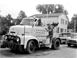 Frank's Gulf Service Rt. 9 Buckley's Corners 1967