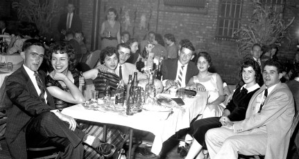Greenport Rescue Sq. Dance at the Armory Mary Meacher & Alice Horneing Co-Chairs 1956 (6)