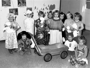 Halloween Party at Reformed Church Greenport 1976