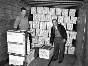 Hudson Cold Storage Rt 9 Greenport 1954 (2)