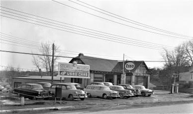 Stilwell Motors Used Cars Fairview Ave, Greenport 1957