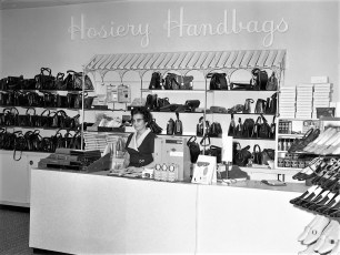 Triangle Shoe Store Fairview Plaza Mrs. Etta Douville Mgr. Greenport 1971