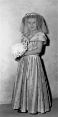 A Tom Thumb Wedding Pageant Louellen Herpfer Linlithgo 1956