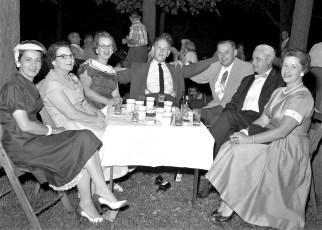 Ben & Betty Bartolotta's Lawn Party 1956 (1)