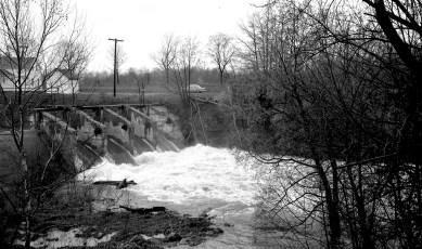 Bingham Mills Power Dam Blue Stores 1969
