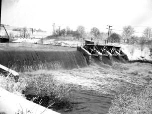 Bingham Mills Power Dam early 50's