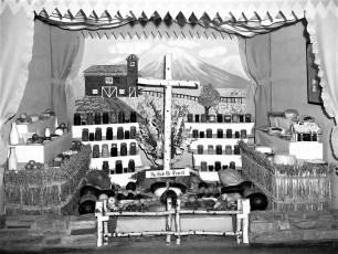 Livingston Grange Exhibit Col. Cty. Fair 1951